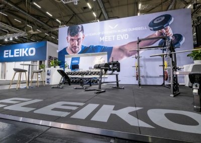 ELEIKO Messestand